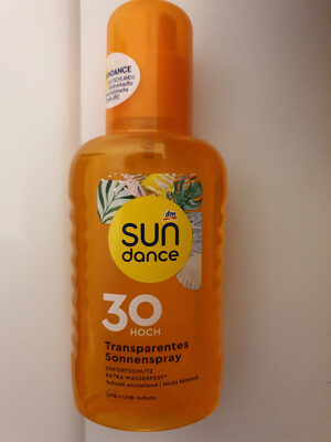 sun dance 30 transparentes sonnenspray - Product - de