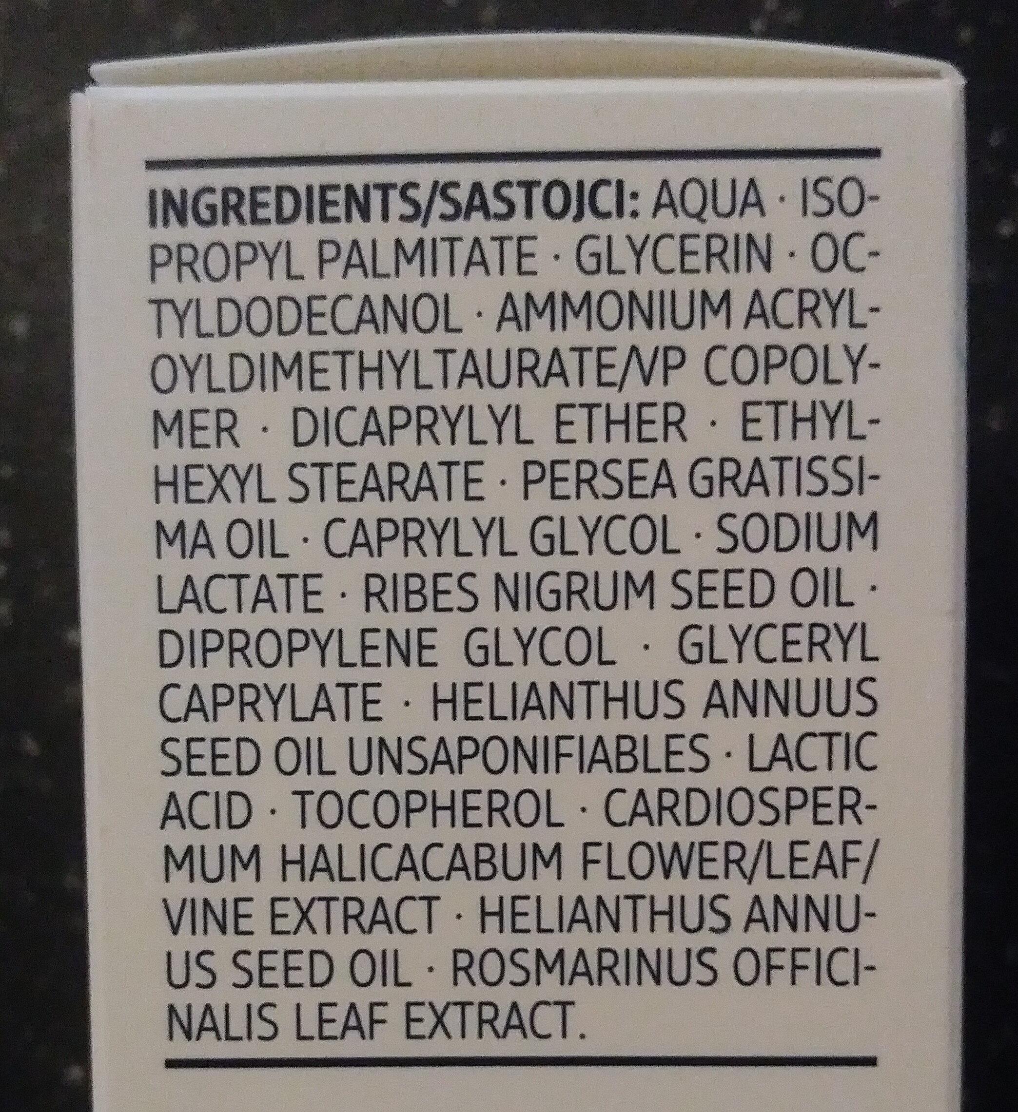 Gesichtspflege Ultra Sensitive - Ingredients - de