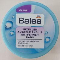 Mizellen Augen Make-Up Entferner Pads - Product