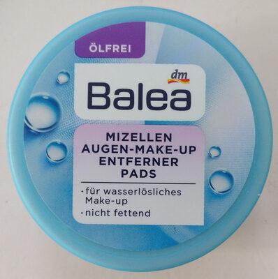 Mizellen Augen Make-Up Entferner Pads - Product - en