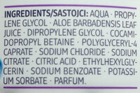 Mizellen Augen Make-Up Entferner Pads - Ingredients - de