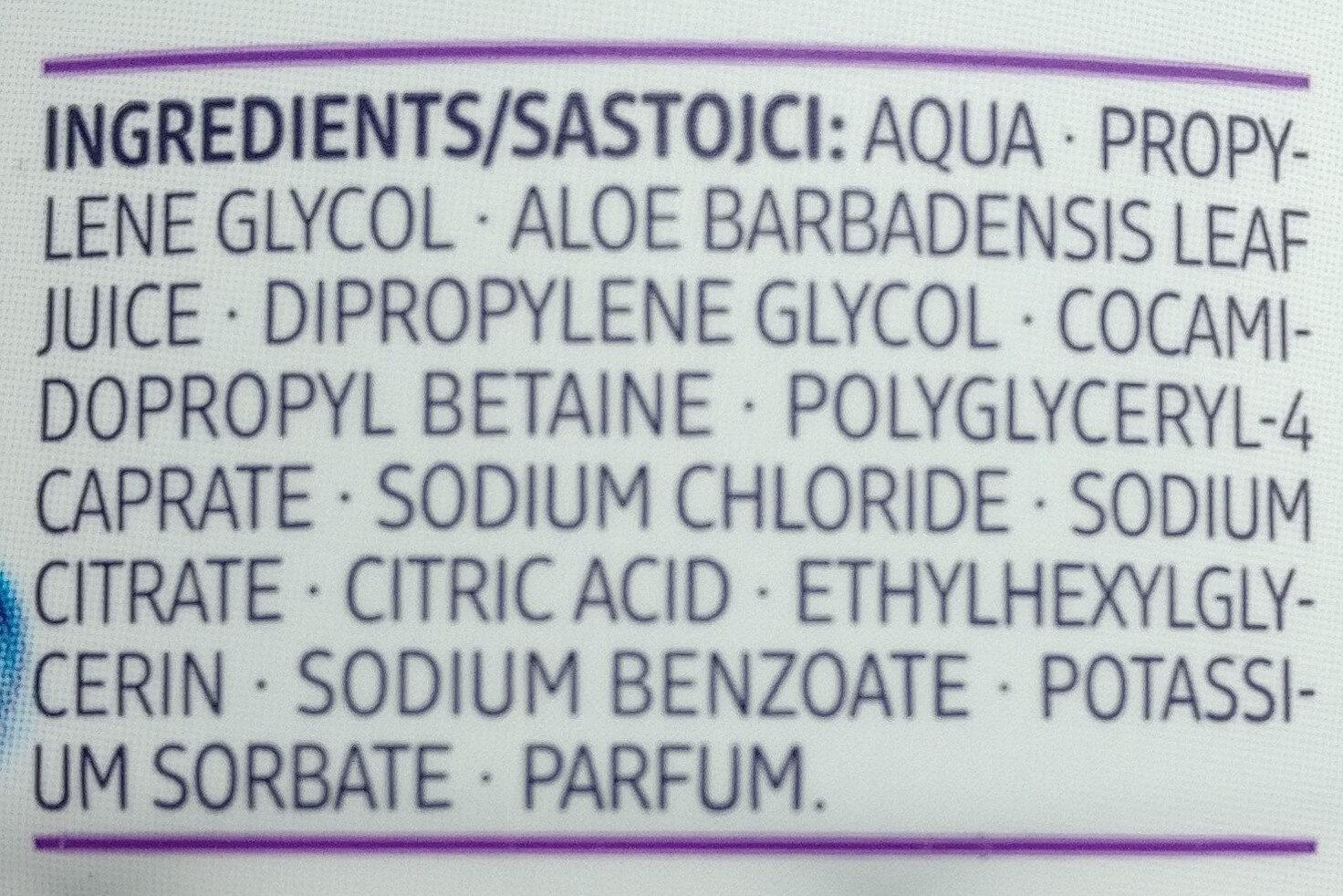 Mizellen Augen Make-Up Entferner Pads - Ingredients