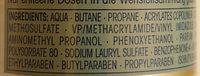 Schaumfestiger - Ingredients - de