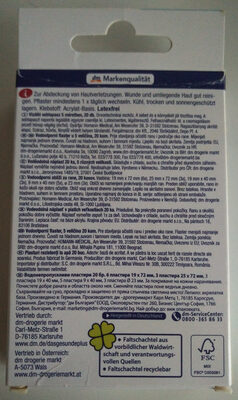 Pflasterstrips (Wasserabweisend) - Product - en