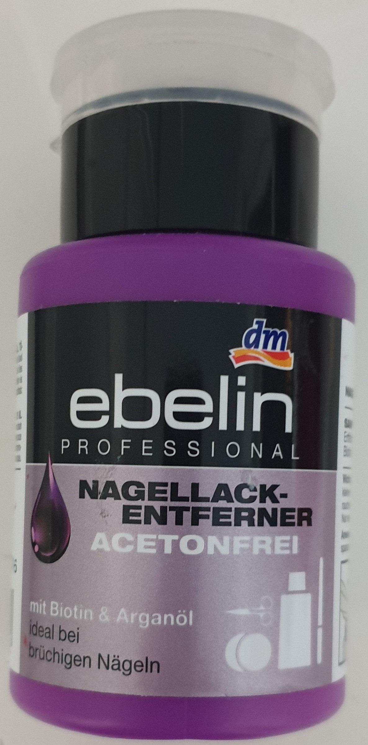 Nagellackentferner acetonfrei - Produit - de