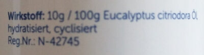 Insektenschutzspray - Ingredients - de
