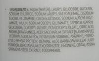 mild shampoo - Ingrédients - de
