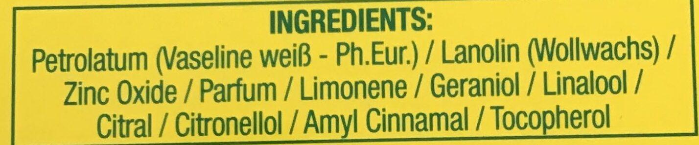 Haut- und Kinder-Creme - Ingredients - de