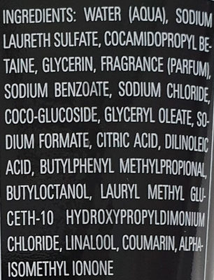 Signature Men - Ingredients