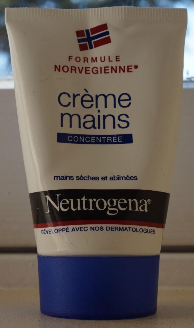 Crème mains hydratante concentrée Formule Norvégienne - Product