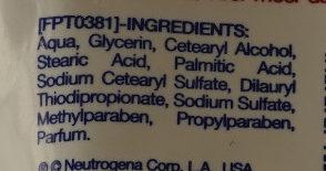 Crème mains hydratante concentrée Formule Norvégienne - Ingredients - fr