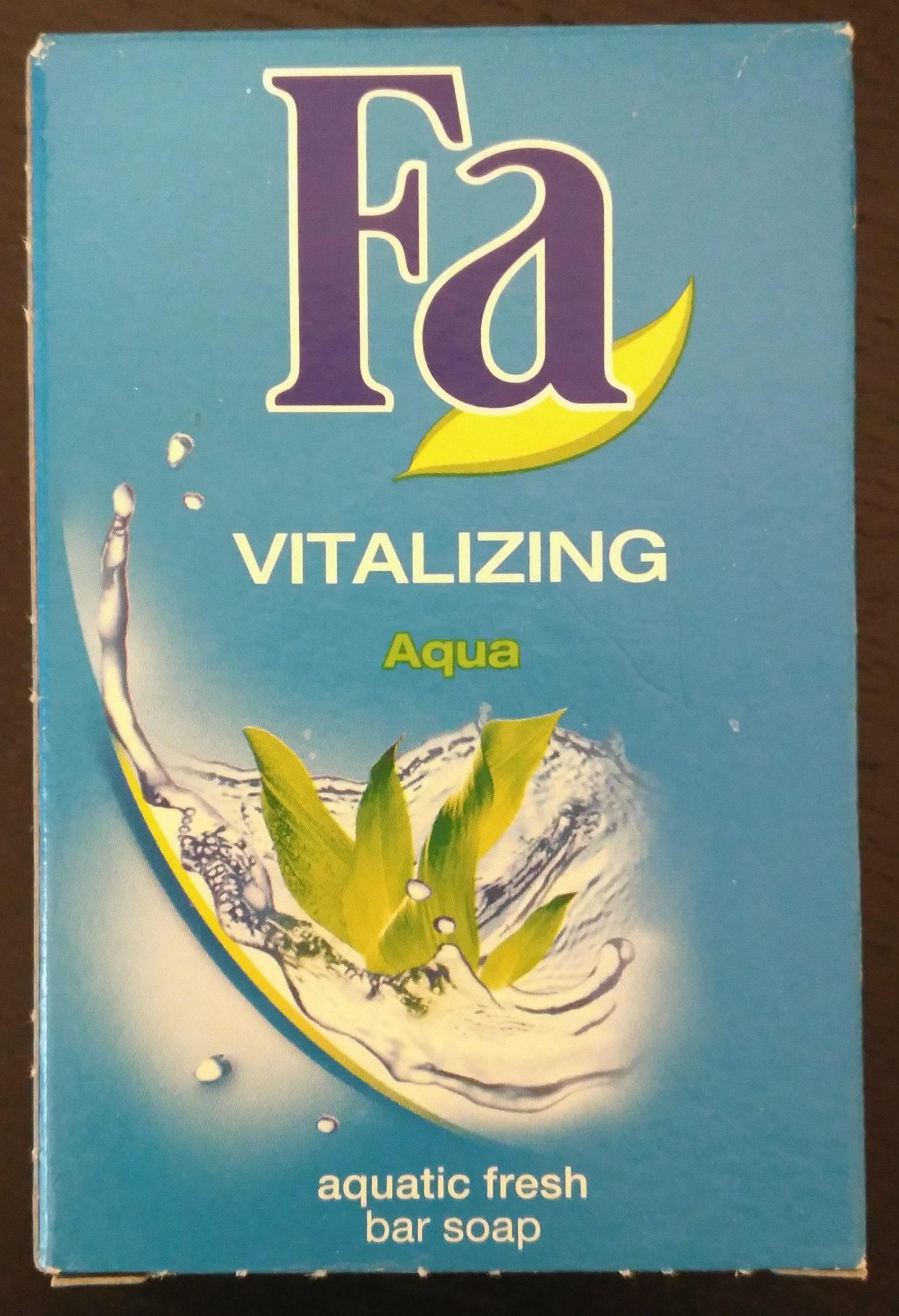 Vitalizing Aqua Festseife mit aquatisch-frischem Duft - Product