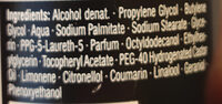 DEODORANT CLASSIC MEN - Ingredients - de