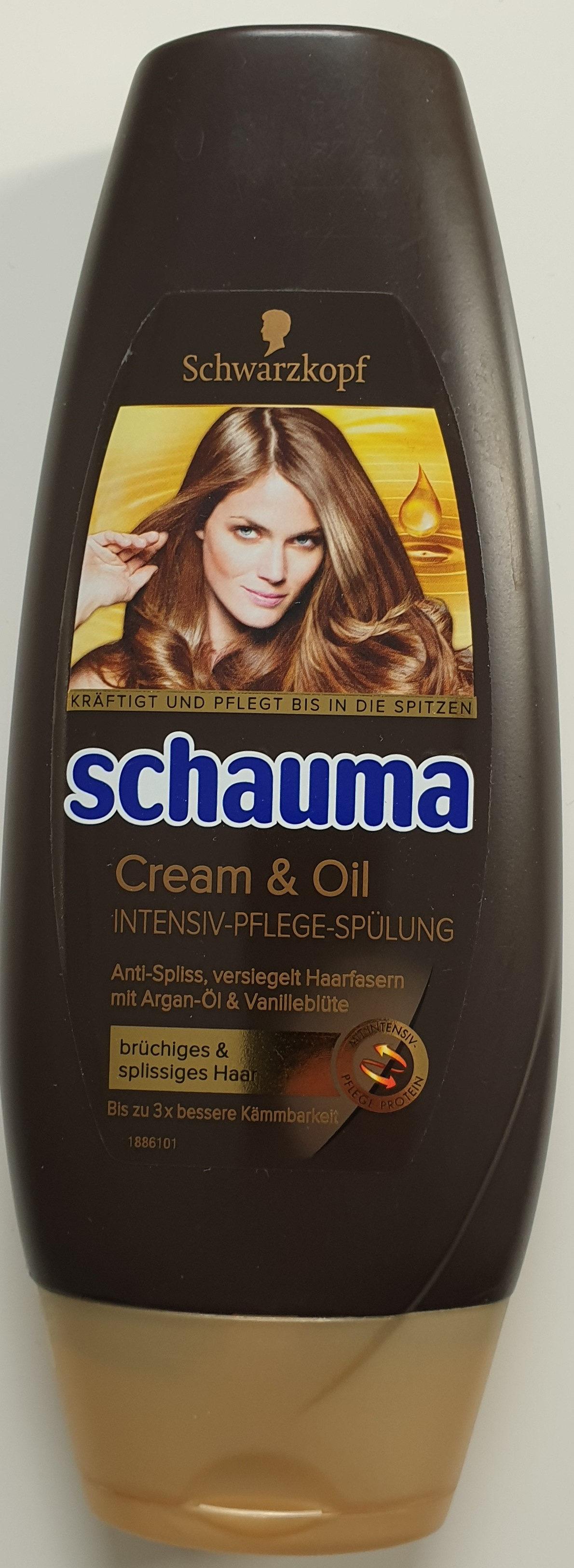 Cream & Oil Intensiv-Pflege-Spülung - Product - de
