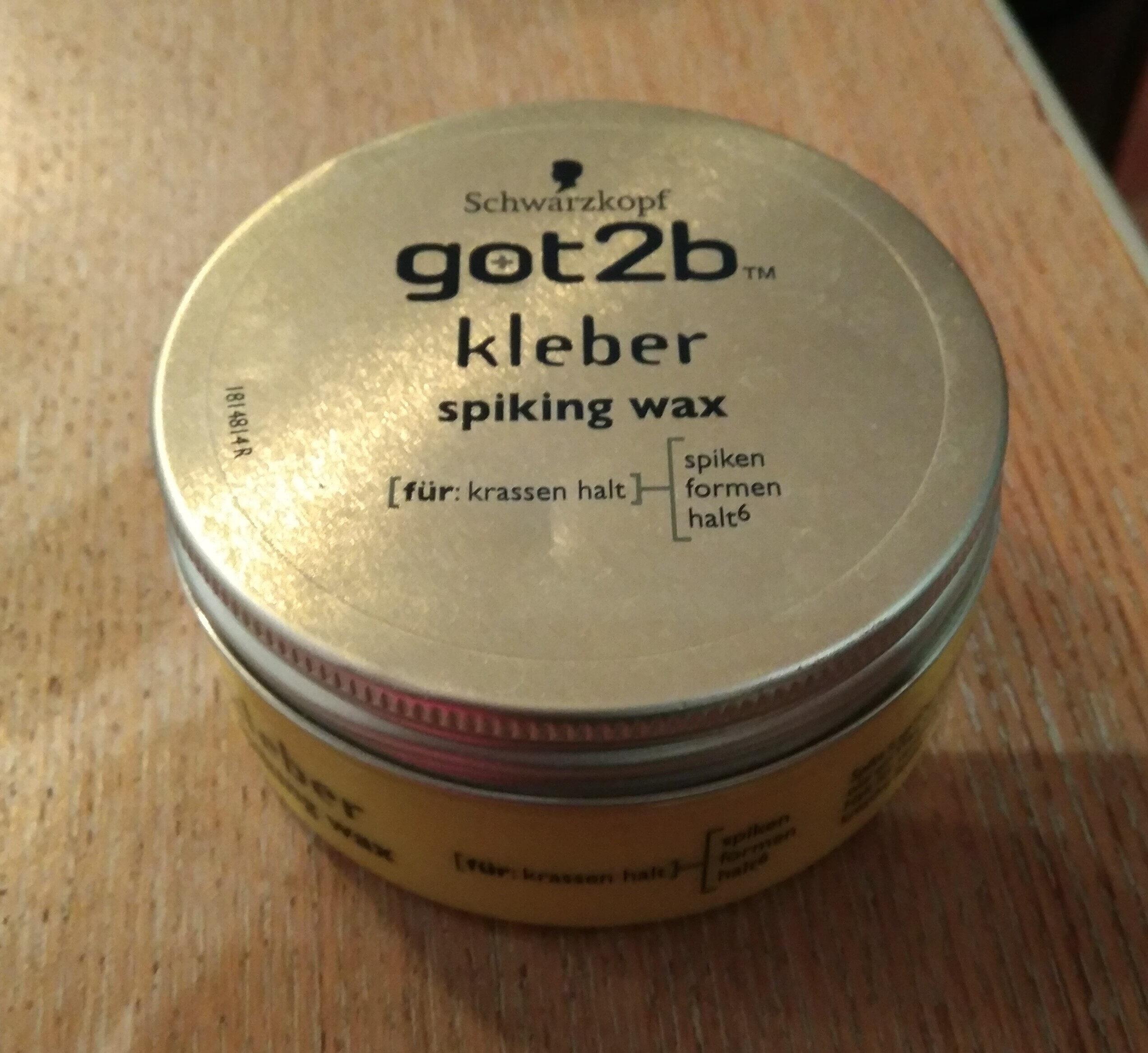 got2b kleber spiking wax - Product - en