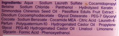 Fresh it Up! Shampoo - Ingredients