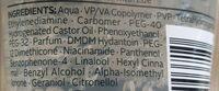 3 Wetter Taft Power Invisible Gel - Ingredients - de