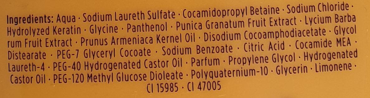 Frucht & Vitamin Shampoo - Ingredients - de