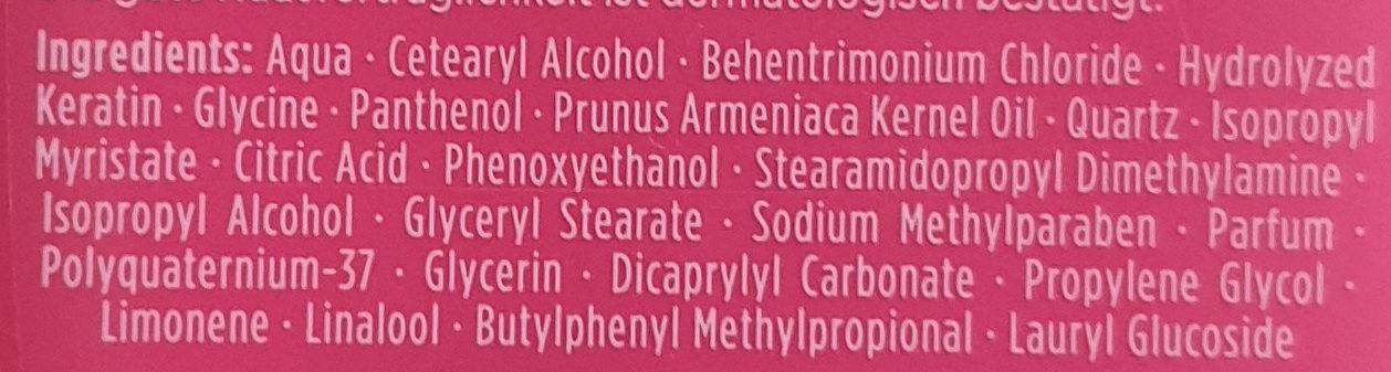 Spiegelglanz 24h Glanz-Treu Spülung - Ingredients - de