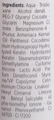 Gliss Kur Color Schutz 2-Phasen Elixier - Ingredients