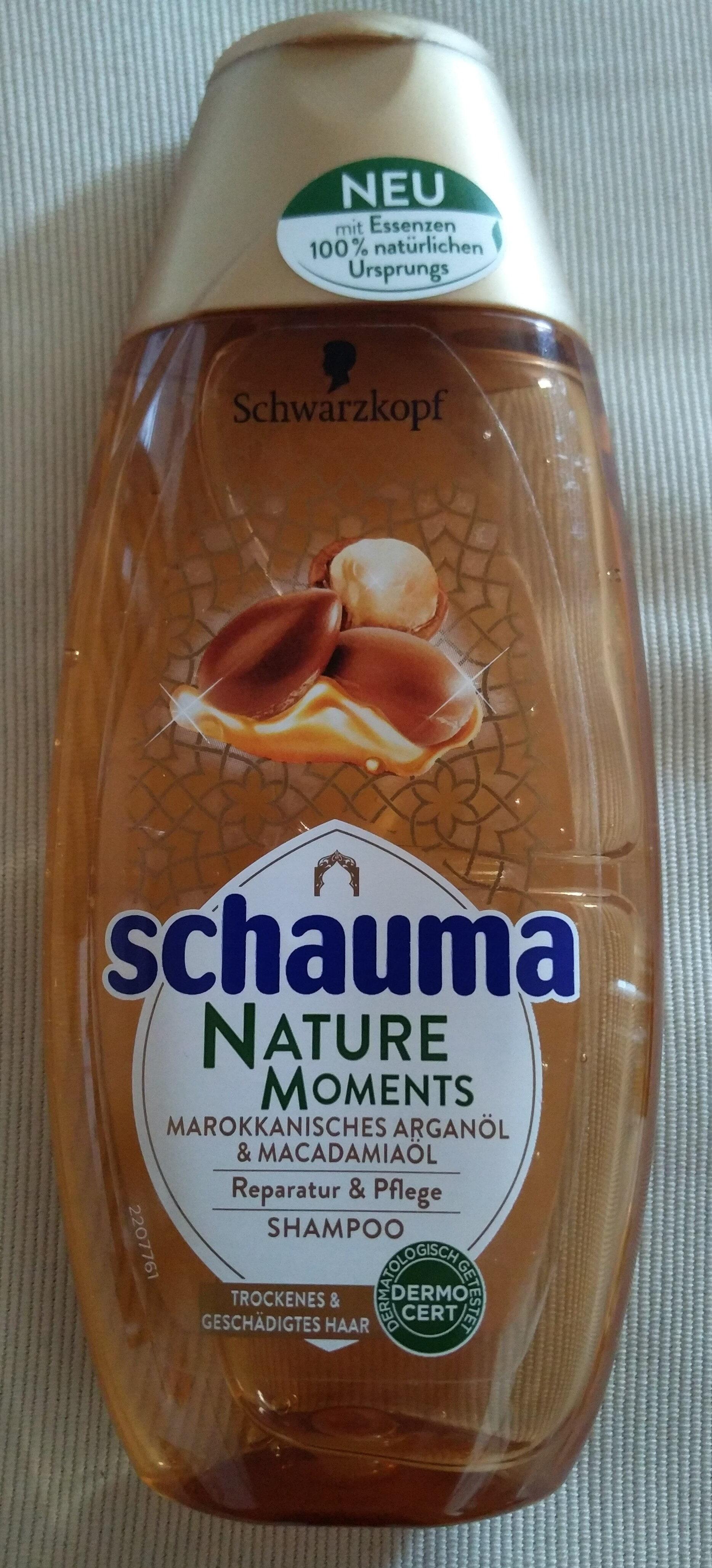 Nature Moments - Shampoo (Marokkanisches Arganöl & Macadamiaöl) - Produit - de