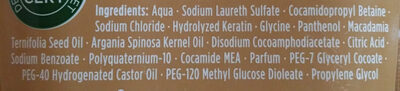 Nature Moments - Shampoo (Marokkanisches Arganöl & Macadamiaöl) - Ingredients - de