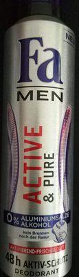 Active & Pure Deodorant - Product