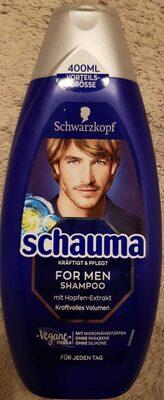 Schauma for men shampoo - Product - de