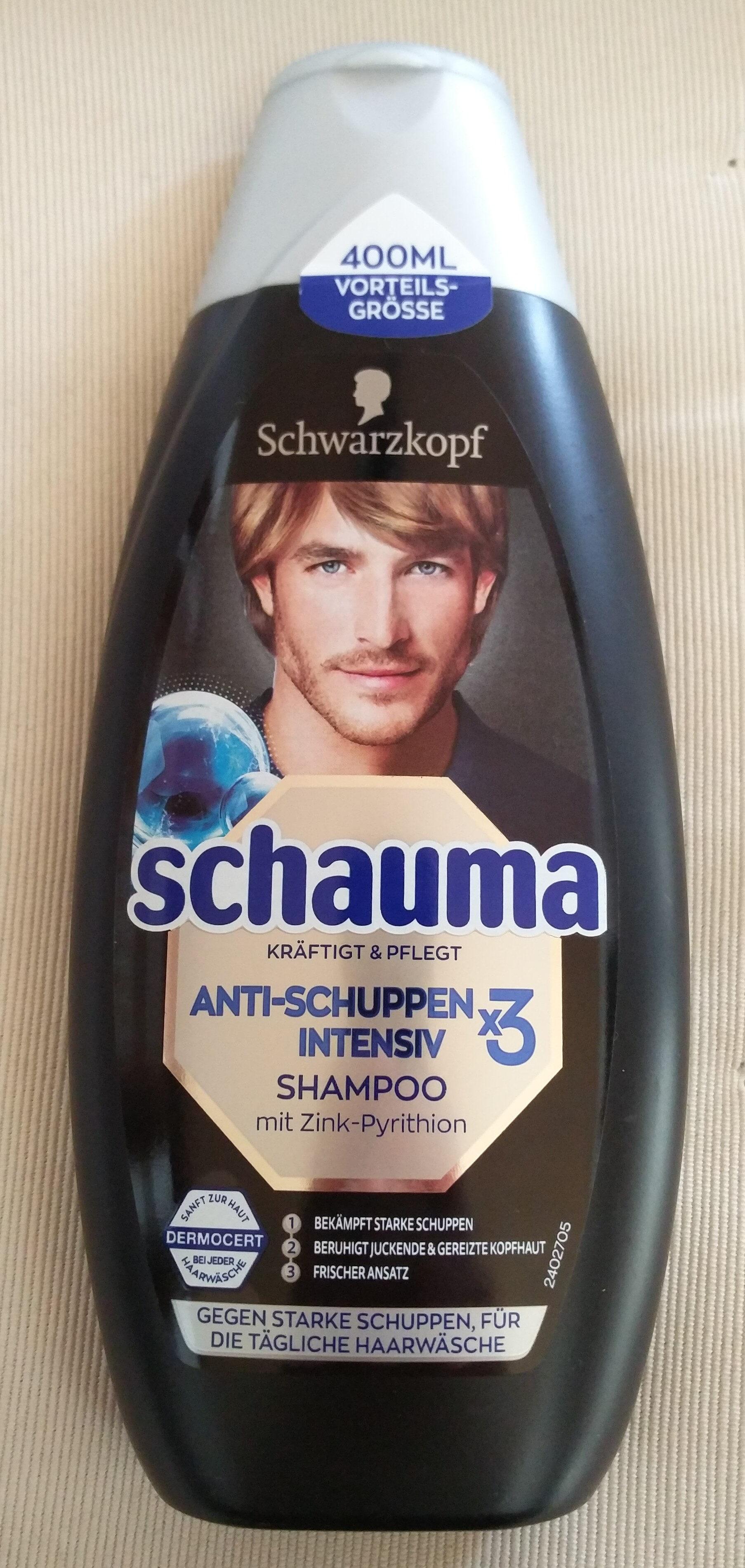 Anti-Schuppen Intensiv Shampoo (x3, mit Zink-Pyrithion) - Produit - de