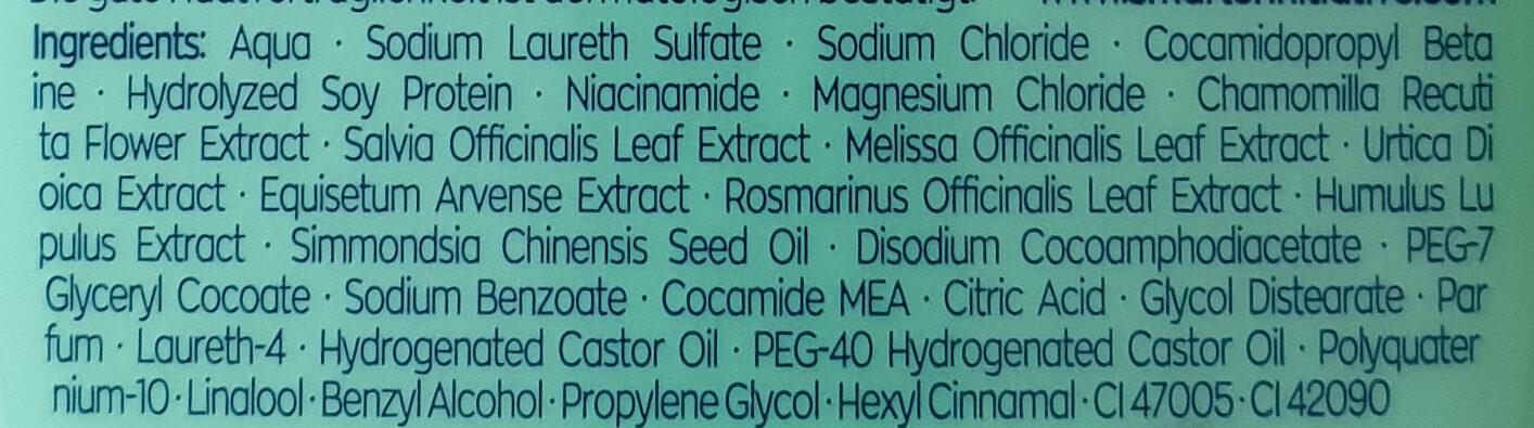 7-Kräuter Shampoo - Ingredients - de