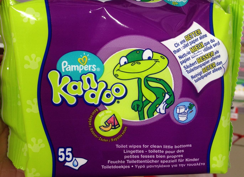 Lingettes - toilette Kandoo - Product - fr
