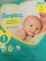 Couches New Baby Premium Protection, taille 1 : 2-5 kg - Product - fr