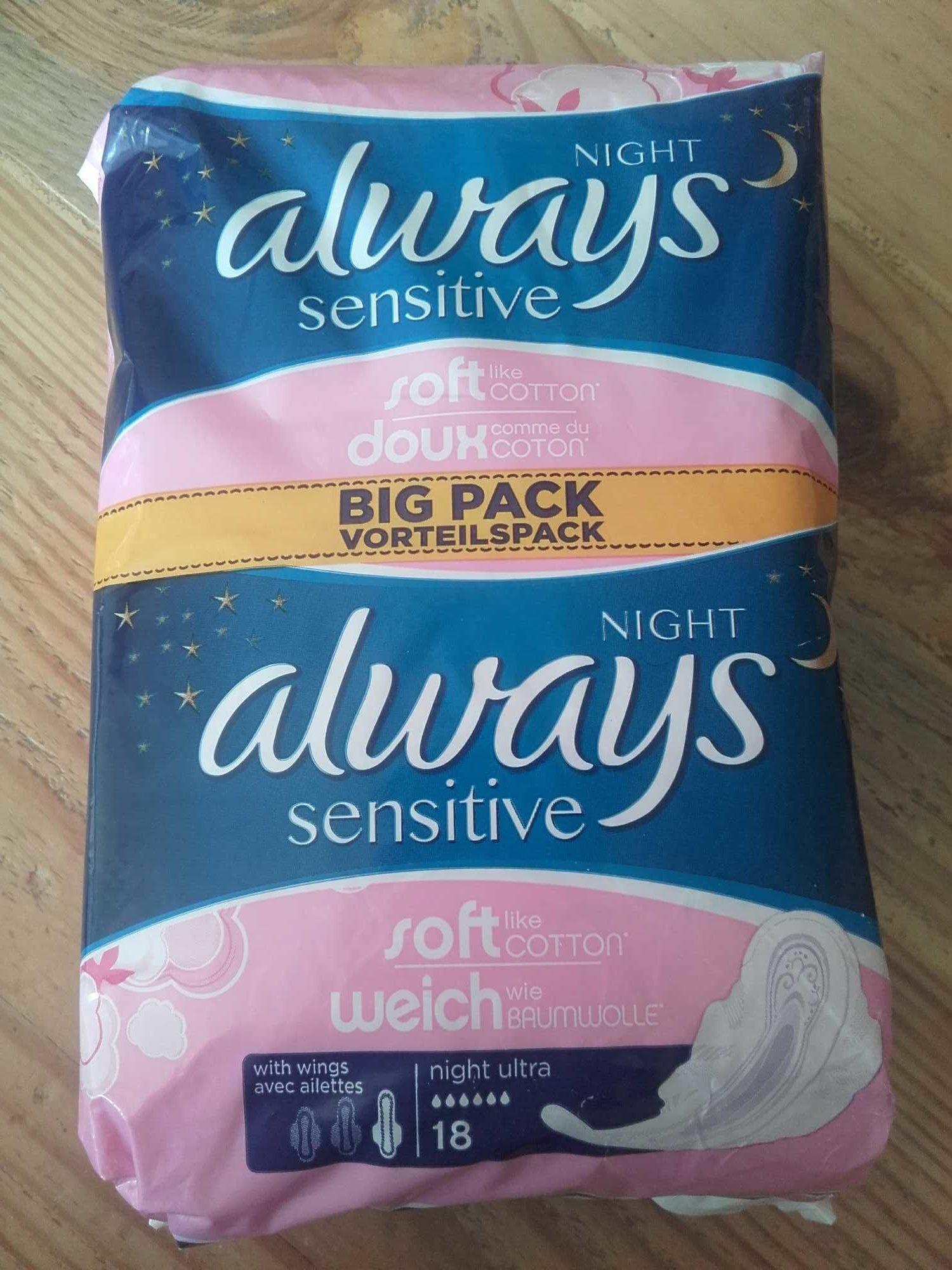 Night Always sensitive - Product - fr