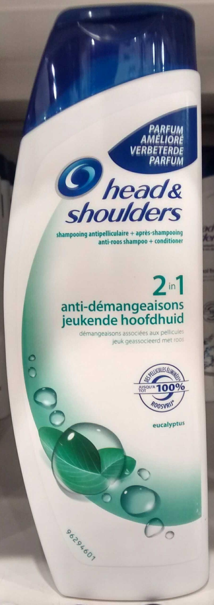 Shampooing antipelliculaire + après shampooing anti-démangeaisons 2 en 1 - Product