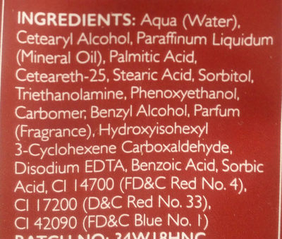 wild berry - Ingredients
