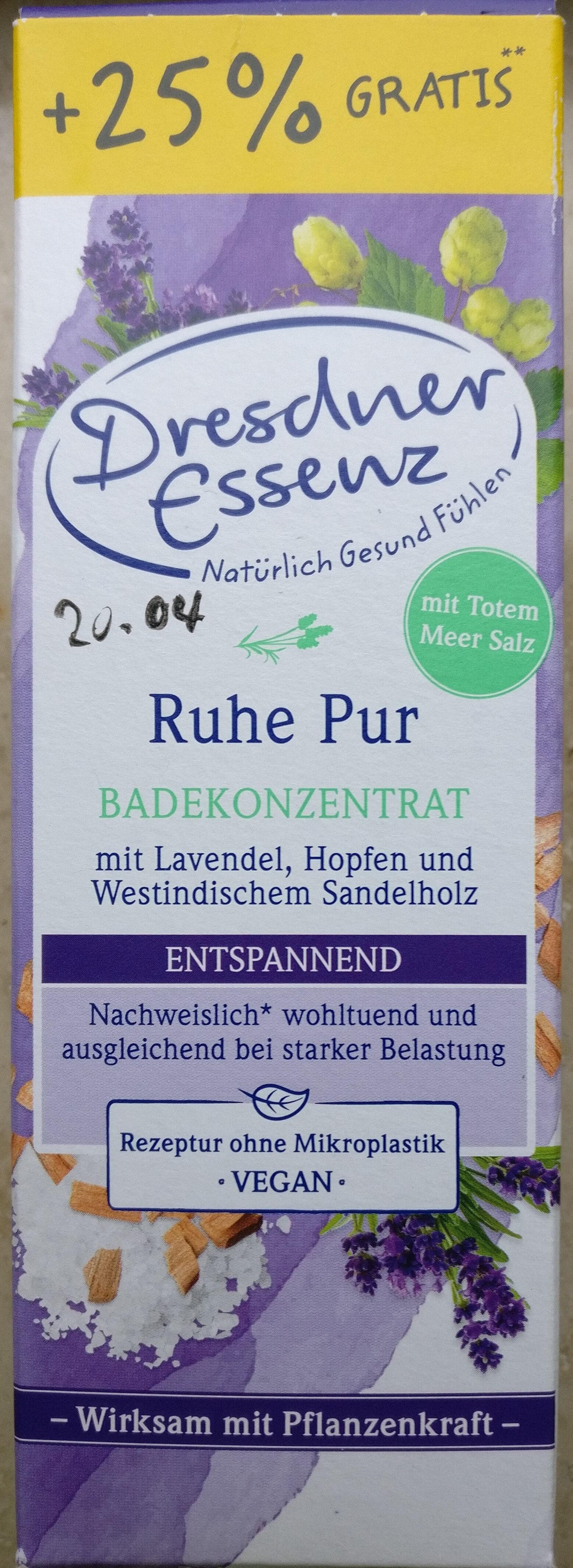 Ruhe Pur Badekonzentrat - Product - de