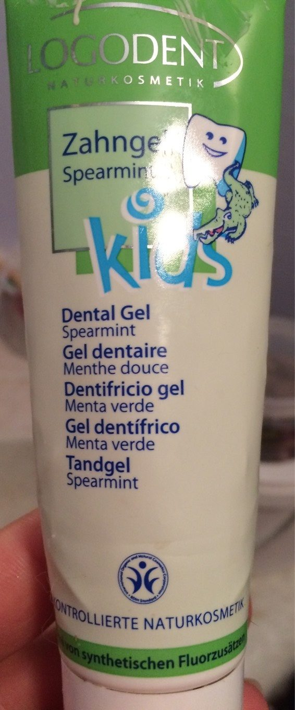 Gel Dentaire Kids Menthe Douce - 50 ML - Logona - Produit