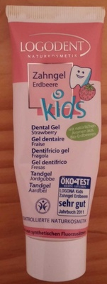 Gel dentaire fraise - Product