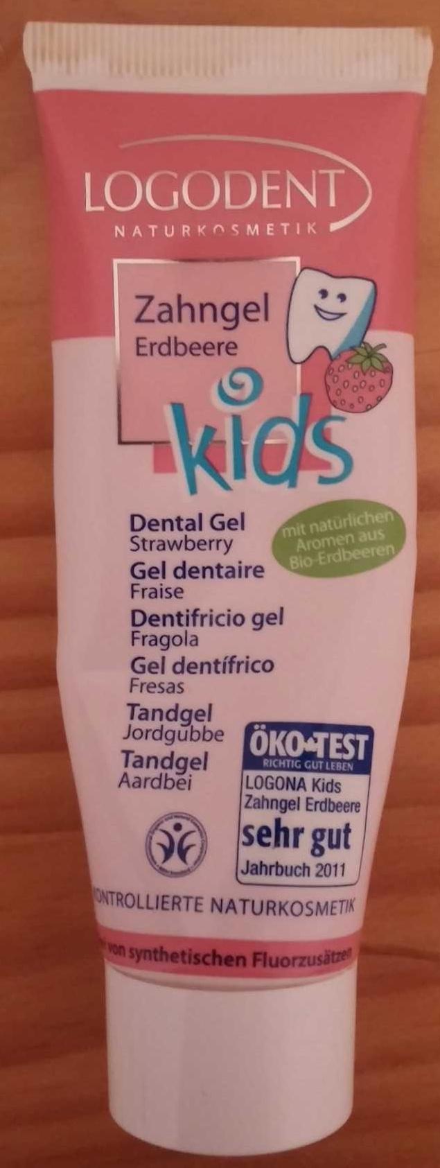 Gel dentaire fraise - Produit