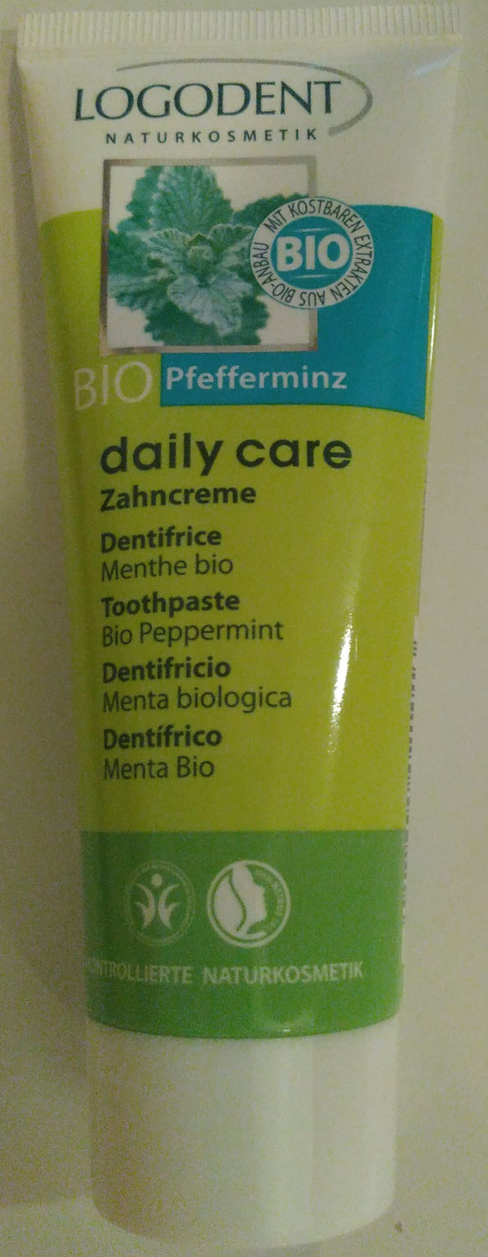 Dentifrice Menthe bio - Product - fr