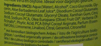 Shampoing Logona BIO Aloe + Verveine Daily Care - Ingredients - fr