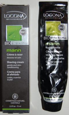 mann Crème à raser - Produit