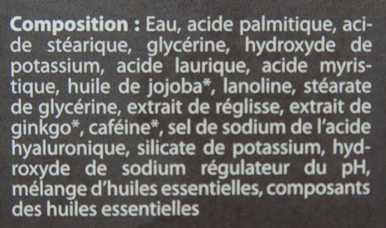 mann Crème à raser - Ingrédients