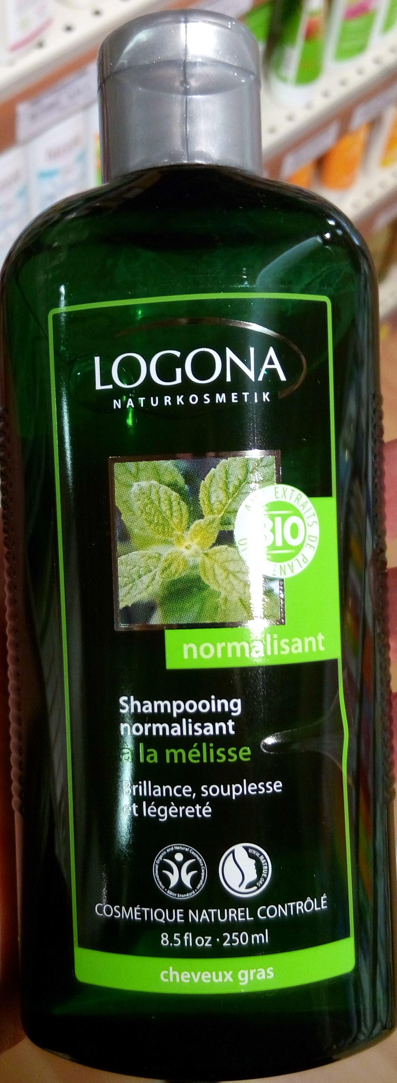 Shampooing normalisant à la mélisse - Product - fr