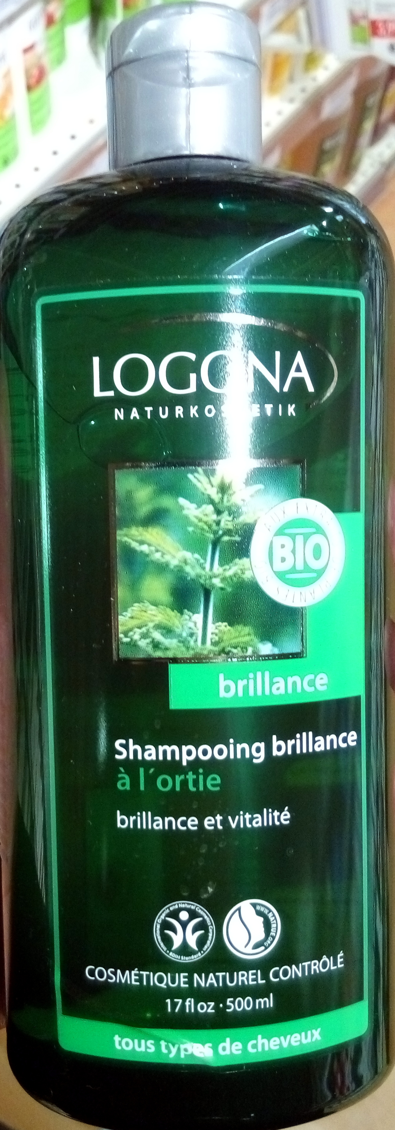 Shampooing brillance à l'ortie - Product - fr