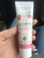Dentifrice happy kids - Product - fr