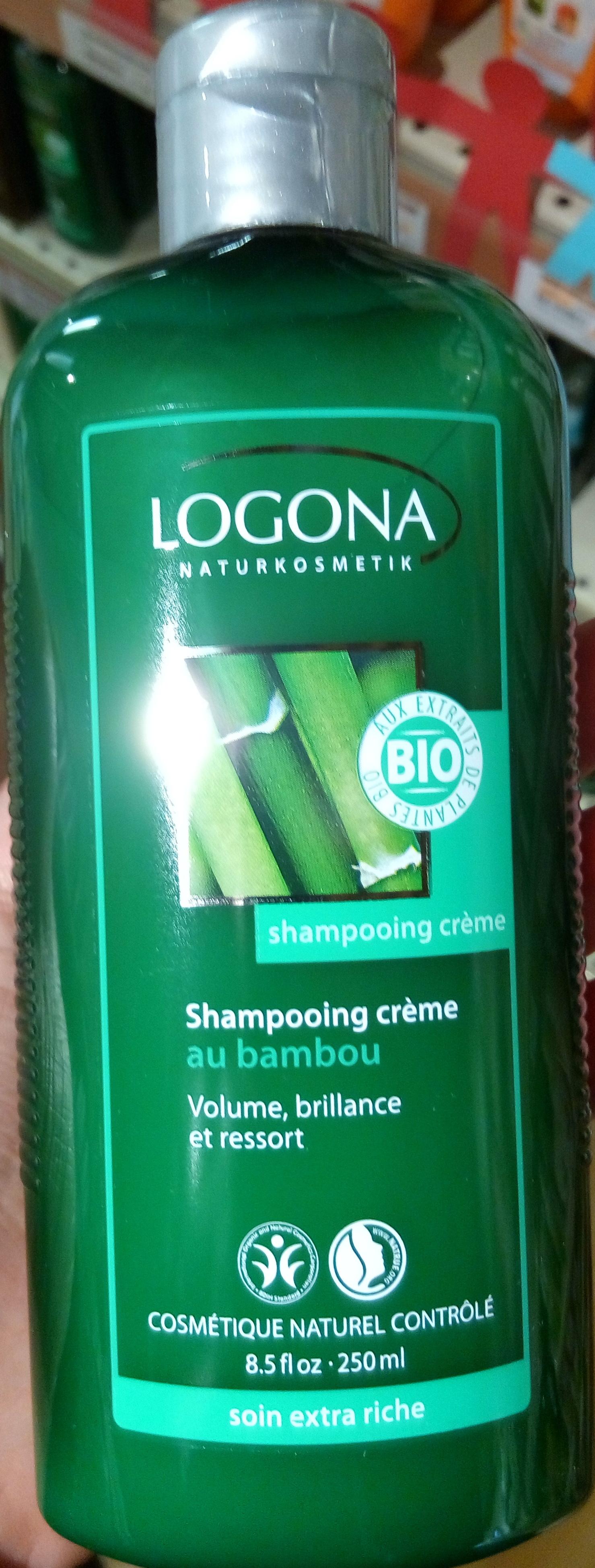 Shampooing crème au bambou - Produit - fr