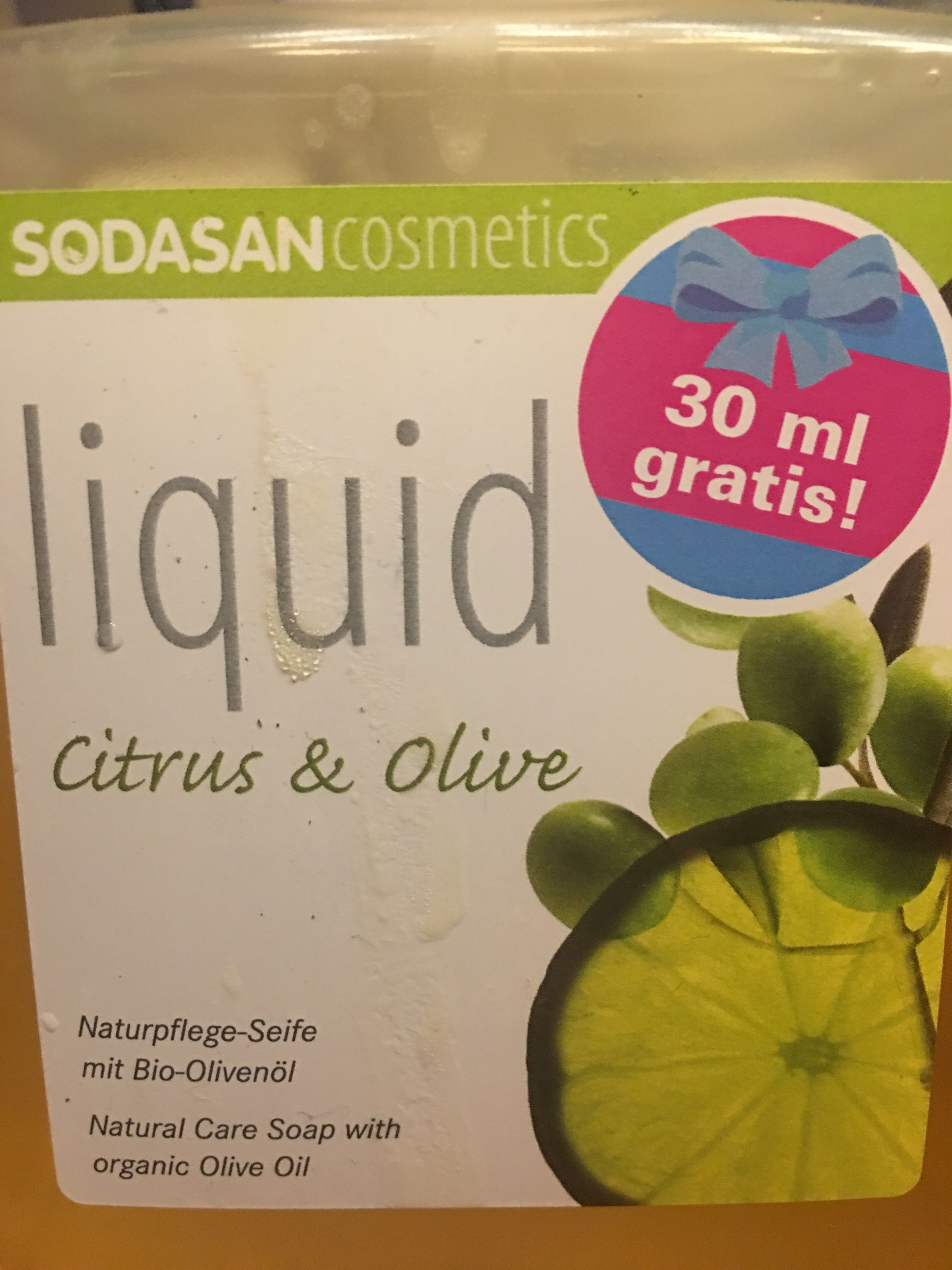Liquid Citrus & Olive - Product