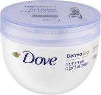 Dove DermaSpa Crème Hydratante Corps Richesse Cachemire Pot - Product - fr