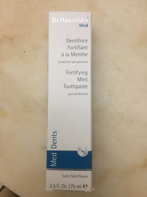 Fortifying Mint Toothpaste - Product
